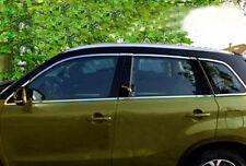 For 2015-2017 Suzuki Vitara Escudo Stainless Full Window Frame Sill Trim 14pcs