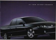 2003 HOLDEN VY II COMMODORE CREWMAN UTE 20 Page Prestige Brochure S and SS