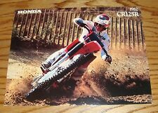 Original 1982 Honda Motorcycle CR125R Sales Brochure 82