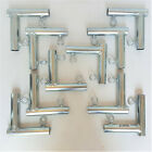 """10pc 2 Way L Shape Slider Canopy Fitting Patio Carport Garden BoothFOLB 1"""" Pipe"""