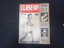 1941 MAY CLOSE-UP, LOOKING AT LIFE UP CLOSE, MAGAZINE - ISSUE #1 - ST 4503