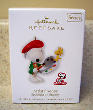 Hallmark 2010 Artist Snoopy, Spotlight on Snoopy