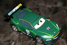 """DISNEY PIXAR CARS 2 """"NIGEL GEARSLEY"""" HARD PLASTIC TIRES, LOOSE"""