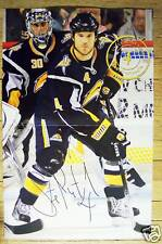 STEVE MONTADOR - Buffalo Sabres 2009-2010 game poster #31 - NHL hockey 2-9-10