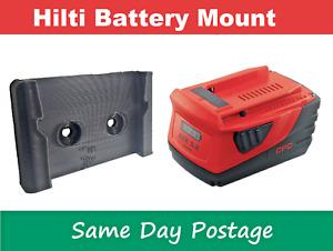 Hilti Battery Holder - Wall Mount - Bracket Power Tool Bracket