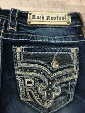Rock Revival Women's Sundee Boot Cut Jeans #EP9407B217R Size: 26 x 29