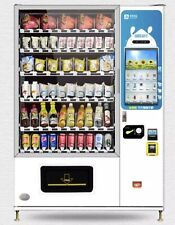 Snack And Beverage Vending Machine W/ 22-inch Touch Screen & Card Reader
