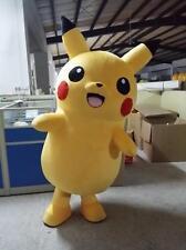 HOT 2017 Brand New High Quality Pikachu Mascot Costume Fancy Dress Any Size-Gift
