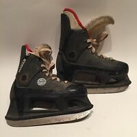 Vintage Micron Mascot Hockey Skates. Rare. Youth Size 2. Free Shipping