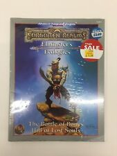 TSR Advanced Dungeons & Dragons Elminster's ecologías apéndice I Sellado Nuevo 9489