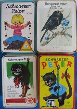 4 x Schwarzer Peter_Quartett Kartenspiel_vollständig_OVB