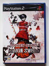 Maken Shao Demon Sword de Atlus para la Sony PS2 usado completo
