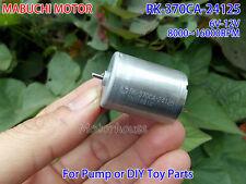 MABUCHI RK-370CA-24125 DC 6V 12V 16000RPM Micro Motor Carbon Brush Elektromotor