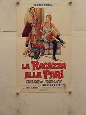 LA RAGAZZA ALLA PARI commedia regia Mino Guerrini locandina orig. 1976