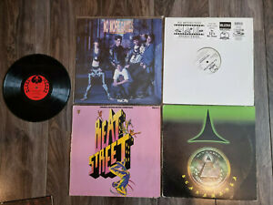 5 Rap/Hip Hop Schallplatten Vinyl LP`s,Maxi Singles Beat Street,NKOTB...80s/90s