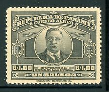 PANAMA MNH Selections: Scott #C61 1B TEDDY ROOSEVELT 25th Ann CANAL CV$7+