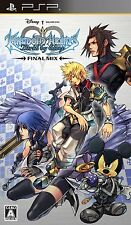 Used PSP Kingdom Hearts: Birth by Sleep Final Mix Japan Import (Free shipping)