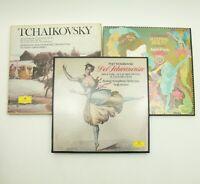 "TCHAIKOVSKY Symphonies Der Schwansee ""Swan Lake"" & Andre Previn Sleeping Beauty"