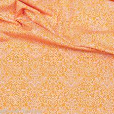 REST Baumwollstoff Orange Baumwollstoffe Kinderstoffe Stoffe Patchwork EN 71-3