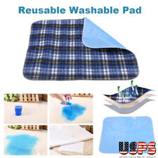 6 WASHABLE UNDERPAD BED UNDER PAD REUSABLE INCONTINENT PEE PROTECTOR ABSORBEN
