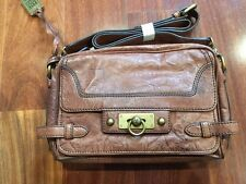 dd96097c0288 NWOT FRYE Cameron Clutch Crossbody Leather Shoulder Bag Handbag - Light  Brown