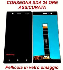 DISPLAY LCD+TOUCH SCREEN NOKIA 3 N3 TA-1032 NERO NUOVO+PELLICOLA IN VETRO