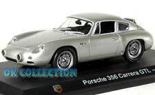1:43 ABARTH PORSCHE 356 CARRERA GTL - 1959 + COPERCHIO BOX RIGIDO