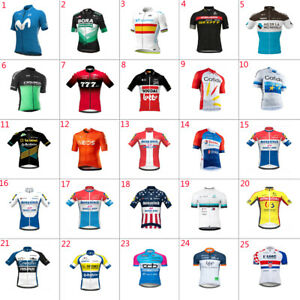 2021 New Mens Team  Cycling Jersey Short Sleeve Cycling Short Sleeve Jersey