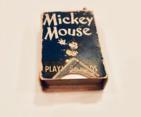 VINTAGE 1930S DISNEY MICKEY MOUSE MINIATURE PLAYING CARDS - COMPLETE SET