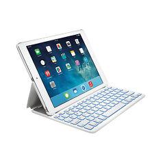 Genuine Kensington KeyFolio Thin X2 Keyboard Case Cover for iPad Air 2 White