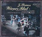 JOHANN STRAUSS - WIENER BLUT 2 CD BOX DENON JAPAN © 1985 RUDOLF BIBL/CD'S MINT!