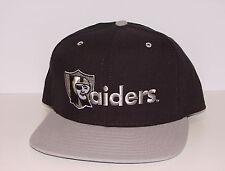 Vintage 90s LA Oakland RAIDERS NEW ERA SnapBACK Hat PRO MODEL NWOT NEW Old Stock