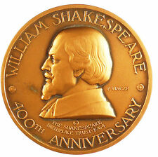 1964 Great Britain 400TH ANNIVERSARY OF THE BIRTH OF SHAKESPEARE By Vincze