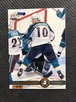 2000-01 PACIFIC OLEG TVERDOVSKY RARE GOLD #ed 42/50