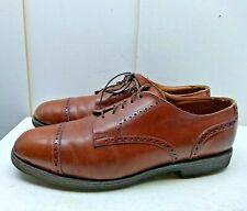 511380ad Allen Edmonds Benton Red Chilly Leather Oxford Cap Toe Brogue Men Shoes 11D  45,5