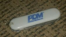 SWISS ARMY KNIFE promo PMD Pitt Des Moines Iowa Engineers Steel Iron ADVERTISING