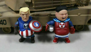 Captain America Trump Superman Kim Jong-un Collectible Figure Doll