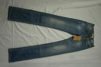 LTB Paulina Damen Stretch Jeans Hose 27/34 W27 L34 blau slim used look NEU AD14
