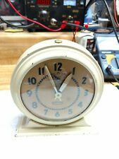 Vintage Ingraham Broadcast Alarm Clock-Circa 1940's-Running!!
