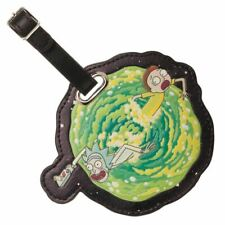 Rick and Morty Portal Character Luggage Bag Tag Suitcase - Adult Swim Travel