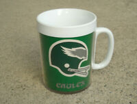 VINTAGE NFL PHILADELPHIA EAGLES THERMO SERV INSULATED 70s COFFEE MUG CUP CLEAN