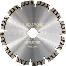 LXDIAMOND Diamant-Trennscheibe 200mm passend f. Lamello Tanga DX200 Fensterfräse