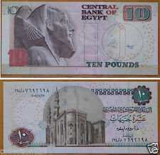 Egypt BANKNOTE 10 Pounds 2009 UNC