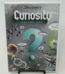 DISCOVERY CHANNEL: CURIOSITY - VOLUME ONE, 2-DISC DVD SET, CAVEMAN/ALIENS/SEX