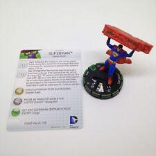 Heroclix World's Finest set Superman #017b Prime figure w/card!