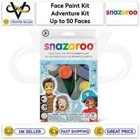 Snazaroo Children's Face Paint Make Up Kits Adventure Kit Up to 50 Faces