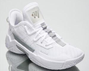 Jordan Westbrook One Take II GS Older Kids' White Grey Basketball Sneakers Shoes