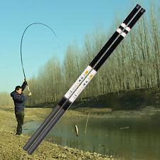 Carbon Fiberglass Fishing Rod Telescopic Hand Pole 2.7M-6.0M Spinning Rod