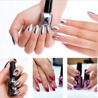 Esmalte de uñas efecto de espejo mágico metálico de arte de uñas cromadoSS