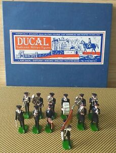 Ducal Toy Soldiers 12 Piece Salvation Army Marching Band.